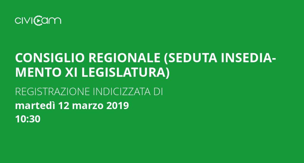 Consiglio regionale abruzzo seduta insediamento xi for Attuale legislatura